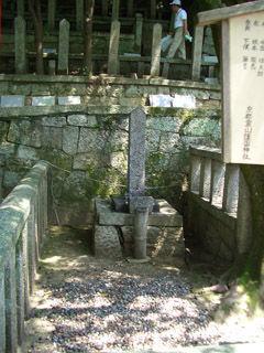 坂本龍馬暗殺時に殺された藤吉の墓