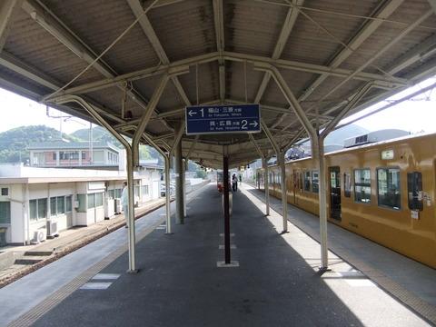 竹原駅ホーム2
