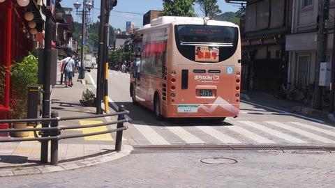 40氷菓ラッピングバス