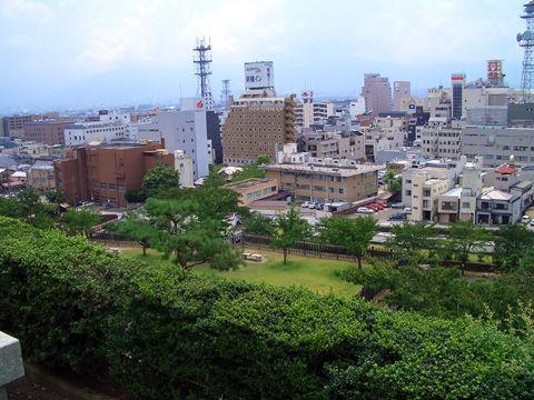 甲府城本丸からの景色4