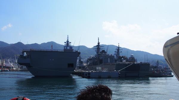 軍港クルーズ(2014春の青春18きっぷ呉) (8)