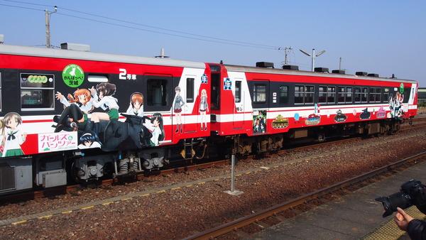 ガルパン列車全車連結 (14)