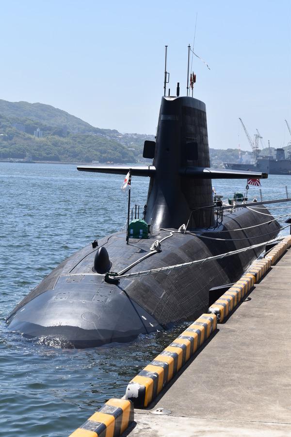 そうりゅう型潜水艦@倉島岸壁 (5)