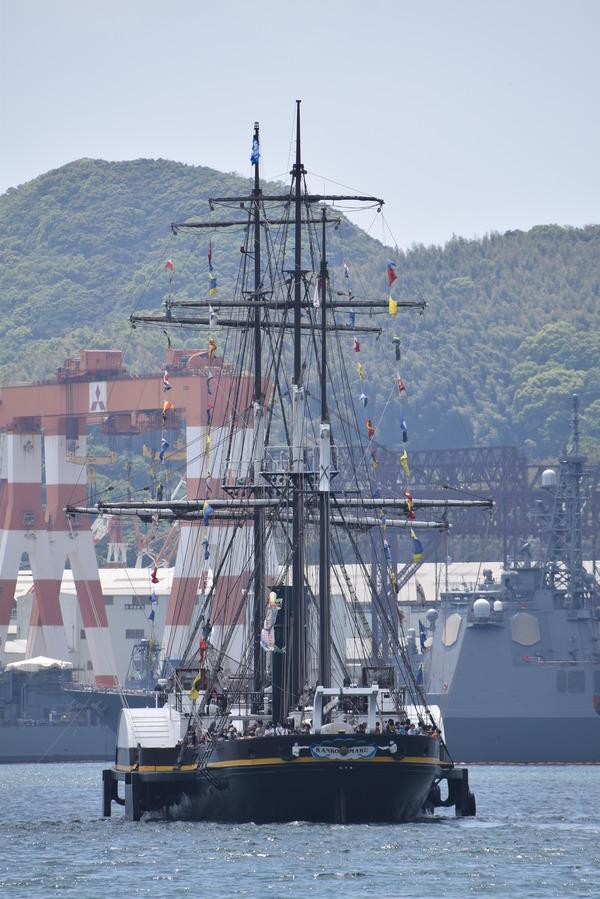 長崎帆船まつりと護衛艦 (14)