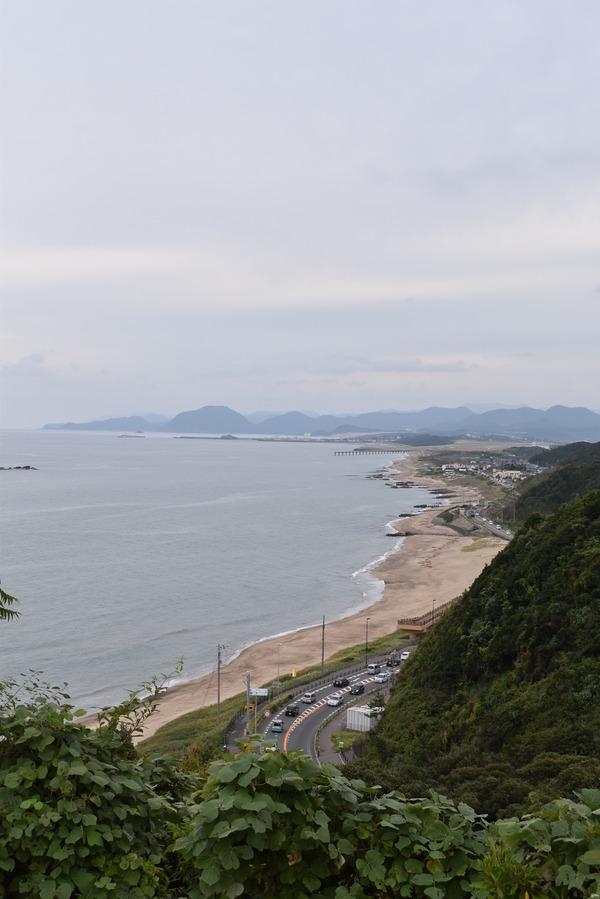 白兎海岸と倉吉の夜 (14)