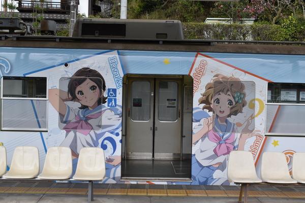 響け!ユーフォニアムラッピング2018駅編 (50)