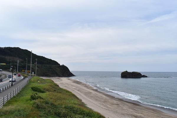 白兎海岸と倉吉の夜 (2)