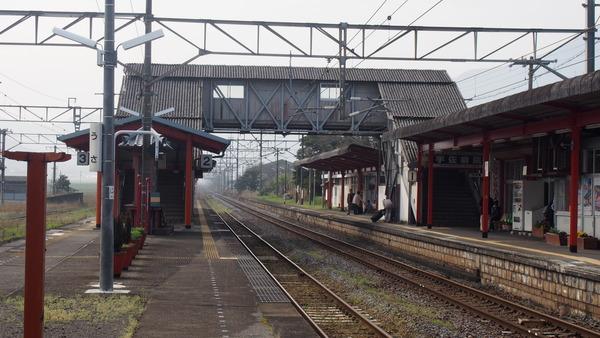 豊肥線の旅2「宇佐駅と神奈ちゃん」 (8)