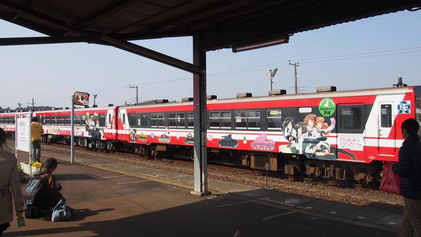 ガルパン列車全車連結 (29)