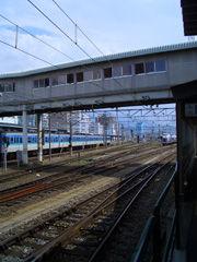 松本駅にて2