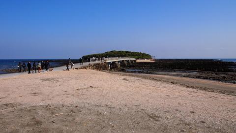 青島と弥生橋