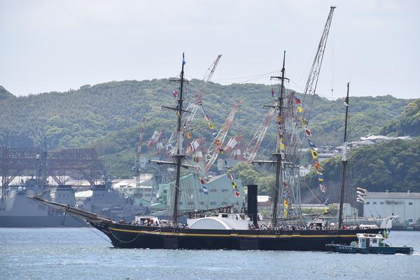 長崎帆船まつりと護衛艦 (13)