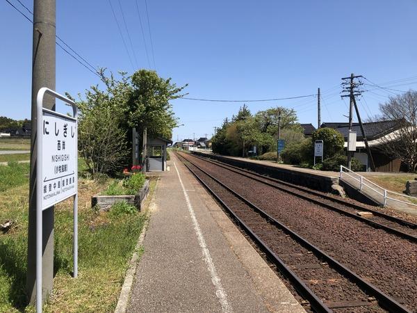 西岸駅 (8)