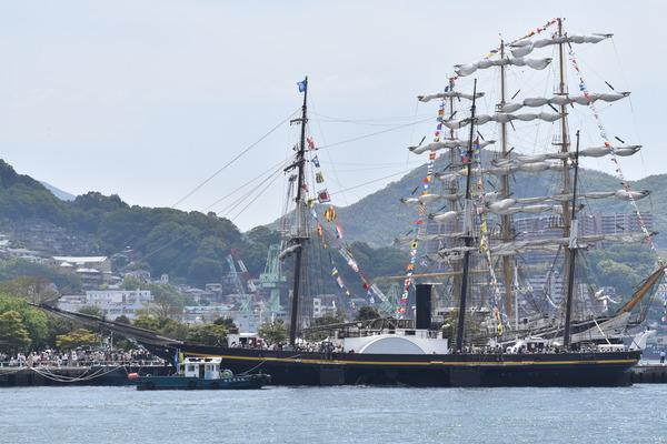 長崎帆船まつりと護衛艦 (10)