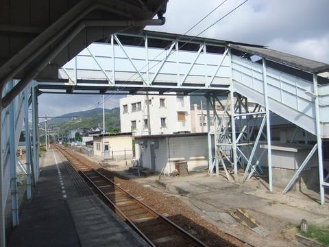 竹原駅跨線橋