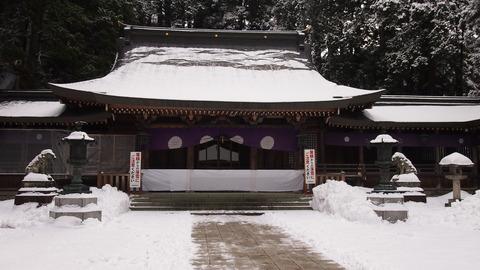 12飛騨一宮水無神社ご拝殿