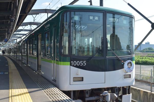 京阪宇治線「響け!ユーフォニアム」HMと等身大パネル (31)