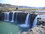 緒方町 原尻の滝