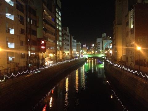 19ホテル側の川