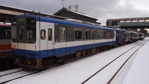 穴水駅ののと鉄道NT200形(3)
