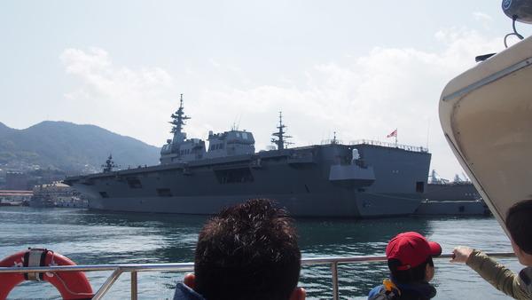 軍港クルーズ(2014春の青春18きっぷ呉) (7)