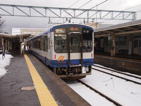 のと鉄道NT200形(和倉温泉駅)