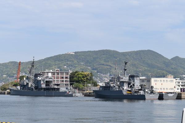 長崎帆船まつりと護衛艦 (1)