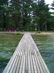 木崎湖桟橋4