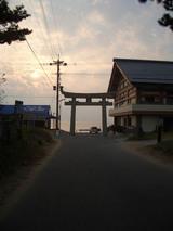 津屋崎の夕日1