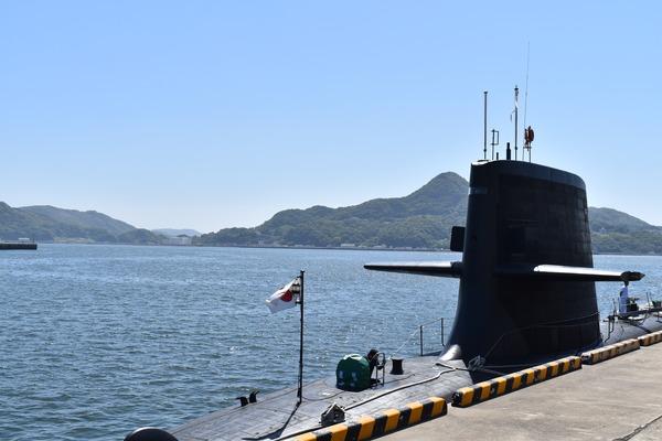 そうりゅう型潜水艦@倉島岸壁 (8)