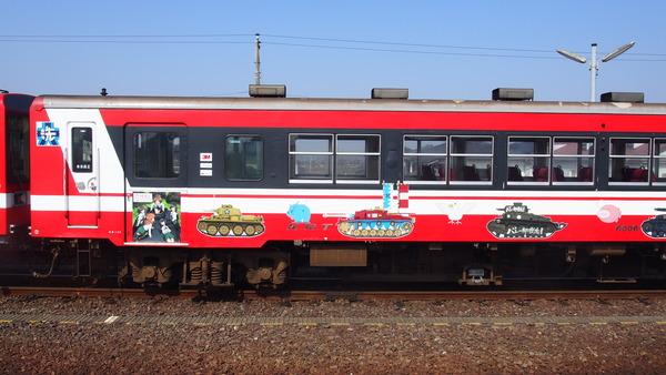 ガルパン列車全車連結 (9)