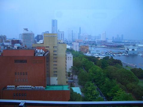 横浜のホテルからの景色2