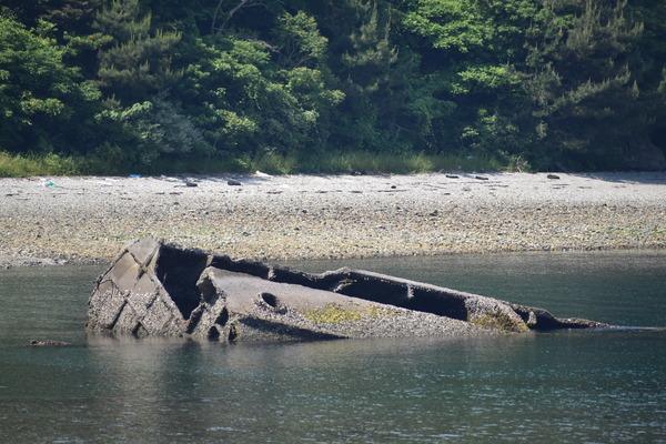 笠戸島のコンクリート船 (26)