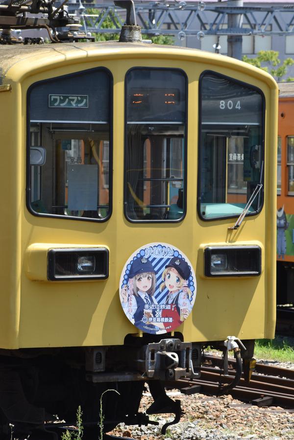 近江鉄道伊豆箱根鉄道コラボHM (1)