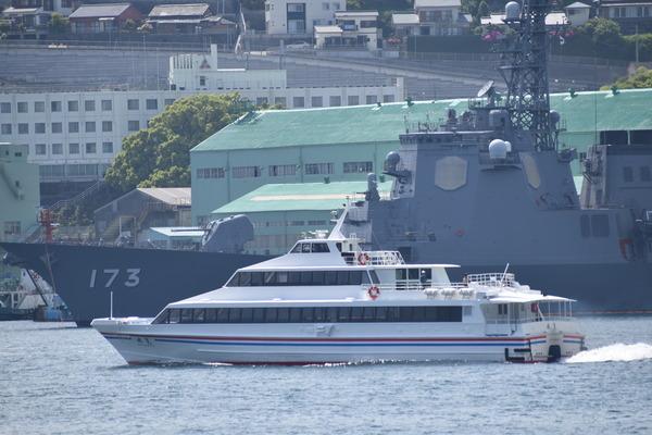 長崎帆船まつりと護衛艦 (41)