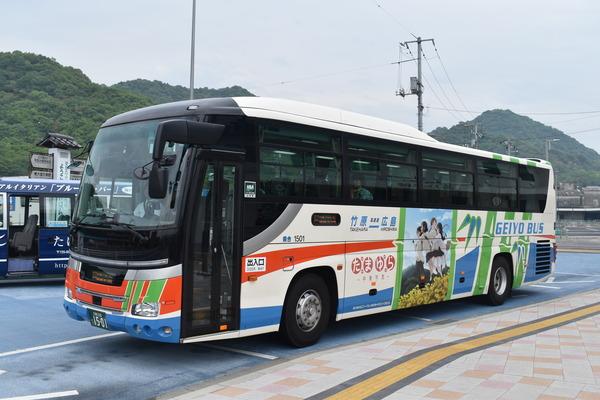 たまゆらバス@竹原港 (2)