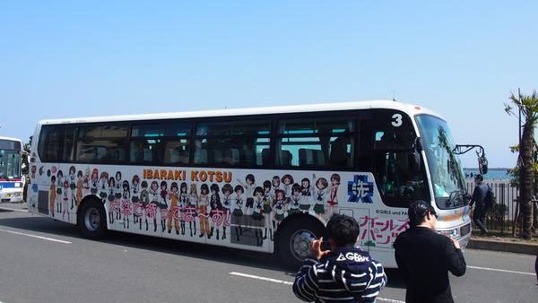 ガルパンラッピングバス (2)