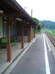 海ノ口駅のホーム