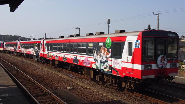 ガルパン列車全車連結 (5)