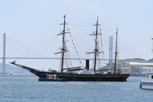 長崎帆船まつりと護衛艦 (11)