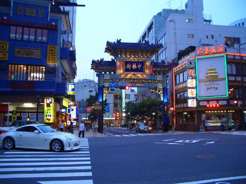 横浜中華街朝暘門