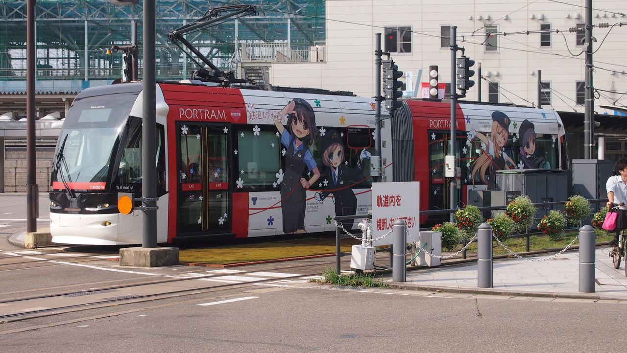 凪ノ旅鉄道むすめ / アニメラッピング電車       富山ライトレール鉄道むすめ巡りラッピング電車(赤)     コメント