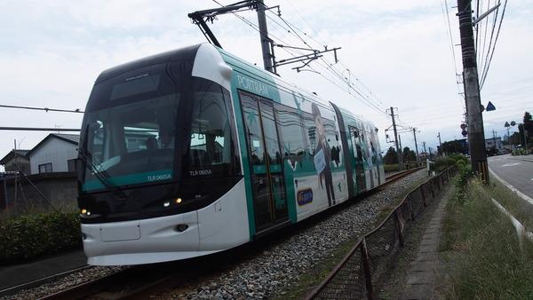 富山ライトレール鉄道むすめラッピング(緑) (5)