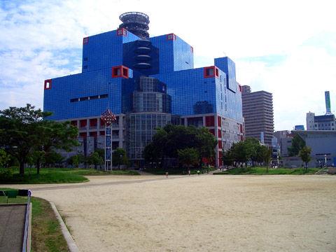 関西テレビ扇町公園より