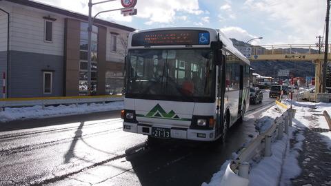 27バスで高山駅へ