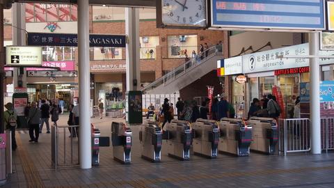 17長崎駅改札