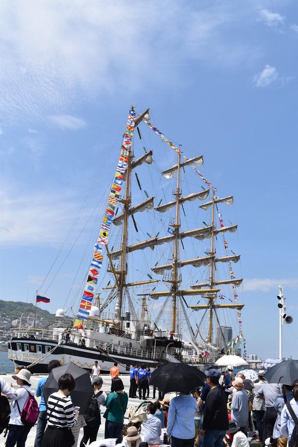 長崎帆船まつりと護衛艦 (26)