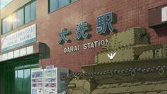 ガルパン列車で大洗へ(参考画像) (5)