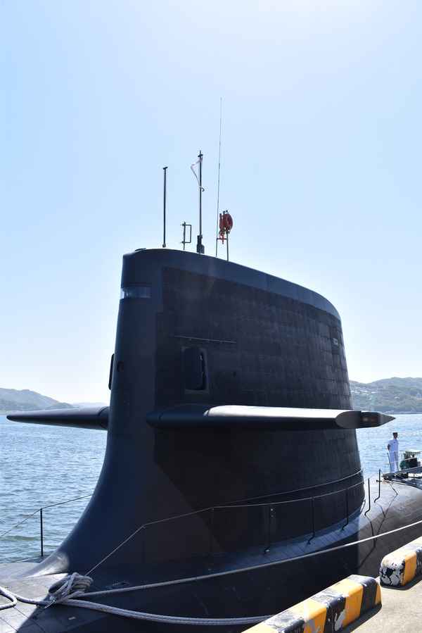 そうりゅう型潜水艦@倉島岸壁 (12)