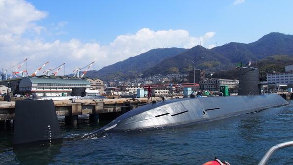 軍港クルーズ(2014春の青春18きっぷ呉) (36)